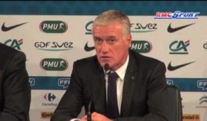 "Equipe de France / Deschamps : ""On a fait beaucoup de bonnes choses"" - 15/10"