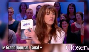Doria Tillier coache Pierre Moscovici dans le Grand Journal