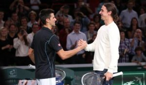 Novak Djokovic invite Zlatan Ibrahimovic à faire quelques échanges