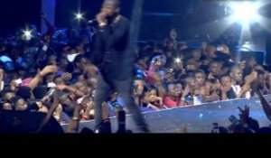 DAVIDO Performs Skelewu At Colourful World of More in Lagos
