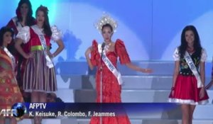 Japon: la candidate des Philippines couronnée Miss International