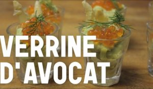 Comment faire une verrine d'avocat