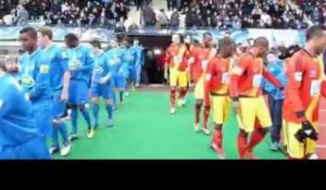 Football : Avranches s\'incline 1-3 contre Lens (VIDEO)