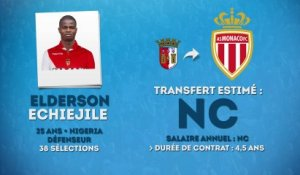 Officiel : Monaco recrute Elderson !