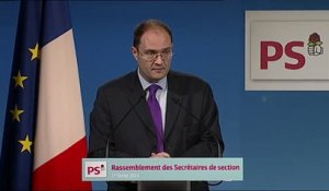 Intervention de Guillaume Bachelay - Rassemblement des secrétaires de section 2014