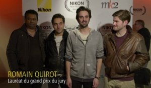 Interview de Romain Quirot - Grand Prix du Jury 2013