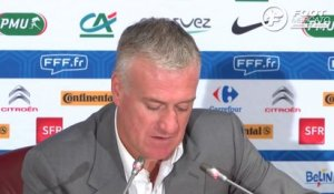 EdF : la liste de Deschamps pour France vs Pays-Bas
