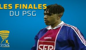 Les finales de Coupe de la Ligue du Paris Saint-Germain