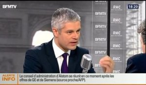 BFM Politique: L'interview de Laurent Wauquiez par Apolline de Malherbe  - 27/04 1/6