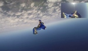 INSANE Wingsuit curving