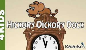 Hickory Dickory Dock | Nursery Rhymes | Karaoke