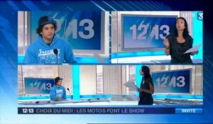 Interview de Jorian Ponomareff, moto freestyle