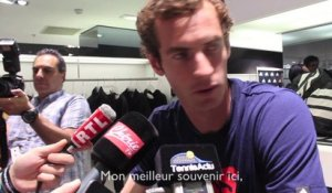"Murray : ""Hâte de rejouer à Paris"""