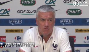 Equipe de France : Deschamps et la possible association Benzema - Giroud