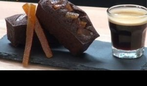 Recette de Financiers chocolat / orange - 750 Grammes