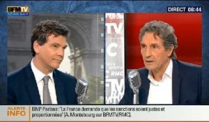 Bourdin Direct : Arnaud Montebourg - 23/06