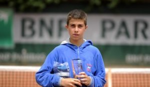 A la rencontre d'Hugo Gaston, champion de France de tennis 14 ans 2014