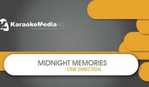 Midnight Memories - One Direction - KARAOKE HQ