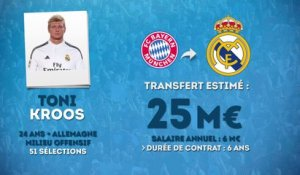 Officiel : Kroos rejoint le Real Madrid !