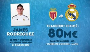 Officiel : James Rodriguez file au Real Madrid !