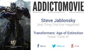 Transformers: Age of Extinction - Teaser Trailer #1 Music (Steve Jablonsky - Best Thing That Ever Happened)