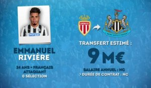 Officiel : Emmanuel Rivière s'engage avec Newcastle !