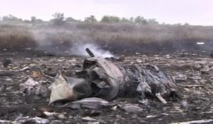 Crash du MH17 en Ukraine : les images de la catastrophe