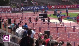 Finale 110 m haies Cadets