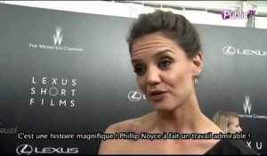 "Exclu vidéo : Katie Holmes : son interview exclusive au ""Lexus Short Films Life is Amazing"" !"