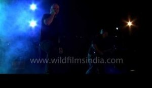 Bang your head to this - Xerath performing at Kohima Metal Fest