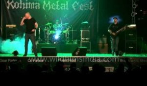 Brits sure know how to rock - Xerath for the first time in India at Kohima Metal Fest '12