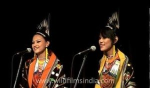 Tetseo Sisters performing at Mussoorie Writers' Festival