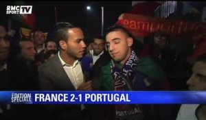 Football / La France domine le Portugal : réactions des supporters - 11/10