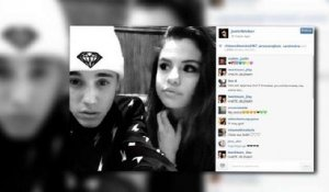 Bieber Posts Pic Cuddling Up With Gomez