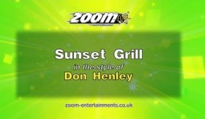 Zoom Karaoke - Sunset Grill - Don Henley
