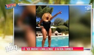 "Le ""Ice Bucket Challenge"" d'Afida Turner - ZAPPING PEOPLE DU 28/08/2014"