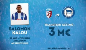 Officiel : Salomon Kalou débarque à l'Hertha Berlin !