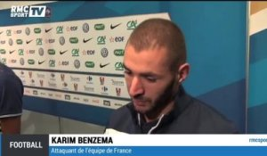 "Football / Benzema : ""On a montré un beau visage"" 04/09"
