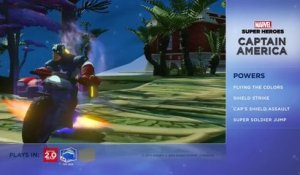 Disney Infinity 2.0 : Marvel Super Heroes - Présentation de Captain America