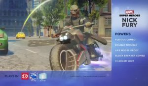 Disney Infinity 2.0 : Marvel Super Heroes - Présentation de Nick Fury