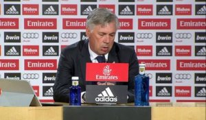 "5e j. - Ancelotti : ""Normal de faire tourner l'effectif"""