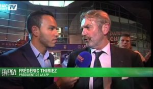 "Football / Thiriez : ""Paris tire tout le monde vers le haut"" 30/09"