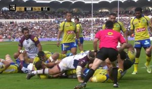TOP14 - Bordeaux-Clermont: 51-21 - J8 - Saison 2014/2015