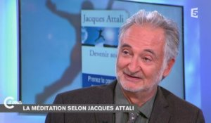 "Comment ""devenir soi"" selon Jacques Attali - C à vous - 03/10/2014"