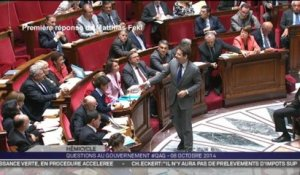 Questions au gouvernement: le zapping