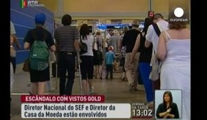 "Portugal : scandale de corruption autour des visas ""gold"""