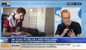 "Culture Geek: Le ""D-shirt"", un vêtement intelligent qui mesure vos performances sportives – 18/11"