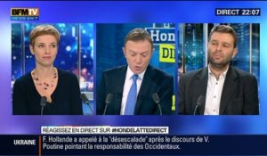 Le Face à Face: Jean-Christophe Buisson VS Clémentine Autain, dans Hondelatte Direct - 05/12