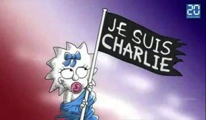 «Charlie Hebdo»: Hommages de Clooney, Les Simpsons, Sting, Johnny