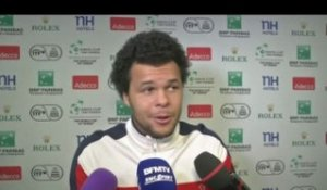 TENNIS - C.DAVIS - Tsonga : «Une nouvelle option»
